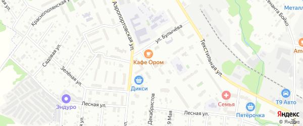 Молодежная улица на карте Лобни с номерами домов