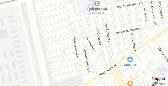 Строительная улица в Серпухове с номерами домов на карте. Спутник и схема онлайн
