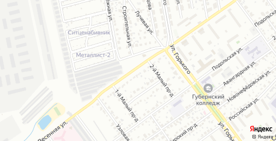 Весенняя улица в Серпухове с номерами домов на карте. Спутник и схема онлайн