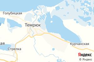 Карта г. Темрюк Краснодарский край