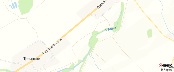 Квартал 330 на карте Щаповского поселения с номерами домов