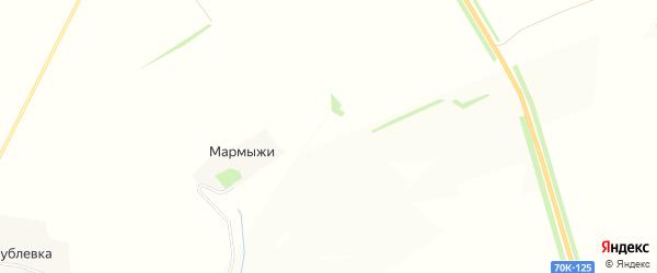 Карта деревни Мармыжи в Тульской области с улицами и номерами домов