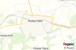 Карта пгт Хомутово Орловская область