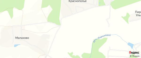 Карта садового некоммерческого товарищества Лучезарного в Тульской области с улицами и номерами домов