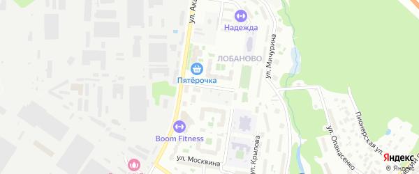 Улица Станиславского на карте Химок с номерами домов