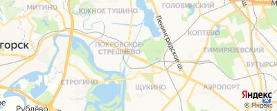 Гришина Дарья Александровна, адрес работы: г Москва, ш Волоколамское, д 80
