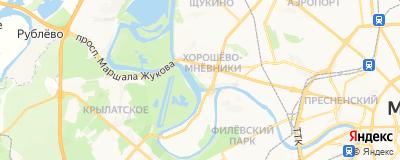 Бурый Анатолий Владимирович, адрес работы: г Москва, наб Карамышевская, д 44