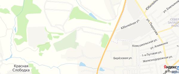 Карта населенного пункта Факела в Тульской области с улицами и номерами домов