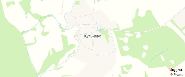Карта деревни Кульнево Никольского сельского поселения в Тверской области с улицами и номерами домов