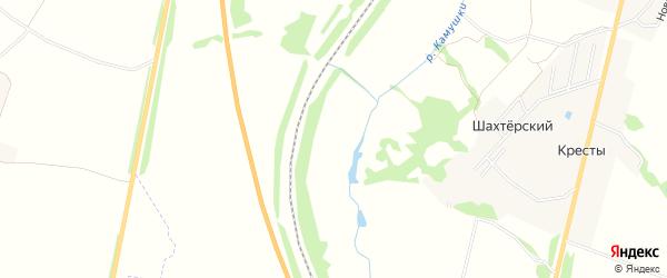 Карта садового некоммерческого товарищества Связист (в р-не Кресты) в Тульской области с улицами и номерами домов