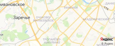 Бондаренко Виктория Николаевна, адрес работы: г Москва, ул Лобачевского, д 98 к 3