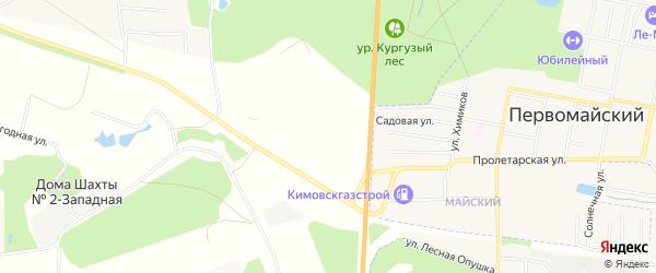 Карта садового некоммерческого товарищества Мичуринца-2 в Тульской области с улицами и номерами домов