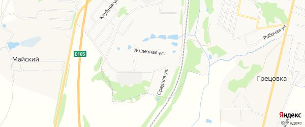Карта садового некоммерческого товарищества Восход (Напротив базы Агрохимсервис) в Тульской области с улицами и номерами домов