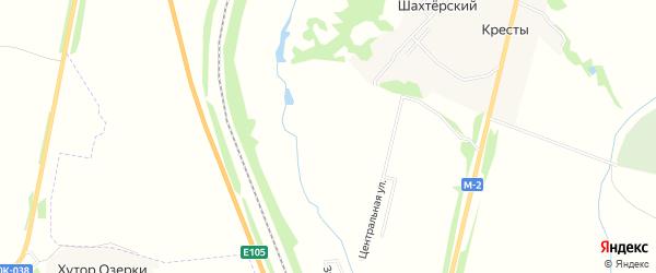 Карта садового некоммерческого товарищества Керамик-2 (в р-не Майский Костомар. МО)) в Тульской области с улицами и номерами домов