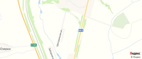 Карта садового некоммерческого товарищества Химик (в р-не Беловы Дворы) в Тульской области с улицами и номерами домов