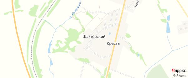 Карта садового некоммерческого товарищества Автомобилист (ак1810 Шахтерский в Тульской области с улицами и номерами домов