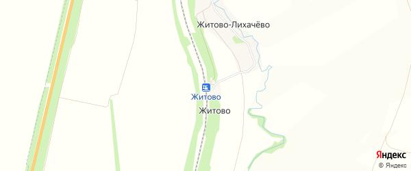 Карта станции Житово в Тульской области с улицами и номерами домов