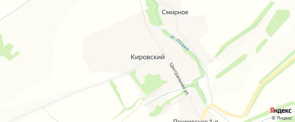 Карта Кировского поселка в Тульской области с улицами и номерами домов