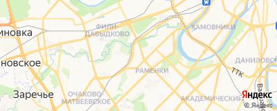 Сажинова Яна Владимировна, адрес работы: г Москва, ул Минская, д 1Г