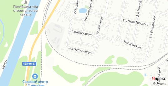 Шпилевская 2-я улица в Дмитрове с номерами домов на карте. Спутник и схема онлайн