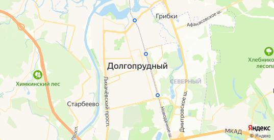 Карта Долгопрудного с улицами и домами подробная. Показать со спутника номера домов онлайн
