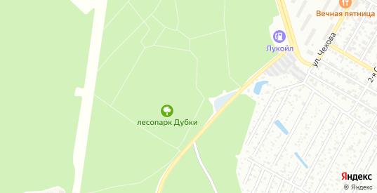 Территория СНТ N7 Дубки в Климовске с номерами домов на карте. Спутник и схема онлайн