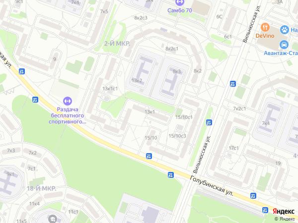 Голубинская улица Все улицы Москвы  Электронная Москва