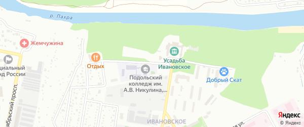 Улица генерал-губернатора Закревского на карте Подольска с номерами домов