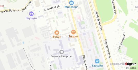 Институтский переулок в Долгопрудном с номерами домов на карте. Спутник и схема онлайн