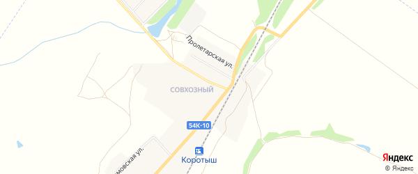 Карта деревни Росстани в Орловской области с улицами и номерами домов