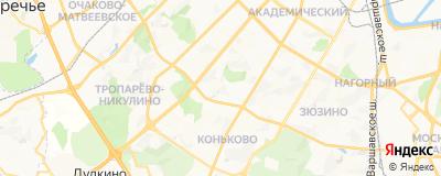 Герасимова Ирина Александровна, адрес работы: г Москва, ул Новаторов, д 3
