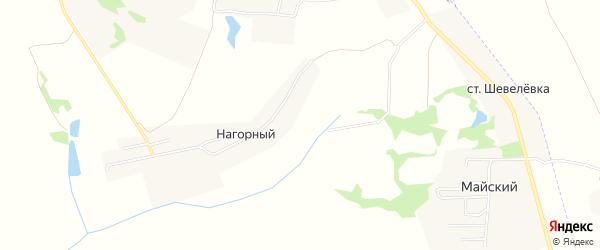 Карта садового некоммерческого товарищества Керамик-5 (в р-не Майский Костом. МО) в Тульской области с улицами и номерами домов