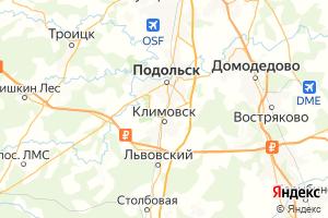 Карта г. Подольск Московская область