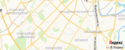 Воронков Алексей Олегович, адрес работы: г Москва, ул Гарибальди, д 19А