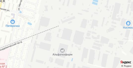 Улица ГСК-6/9 в Климовске с номерами домов на карте. Спутник и схема онлайн