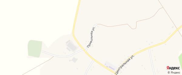 Привольная улица на карте села Верхнего Кузькина с номерами домов