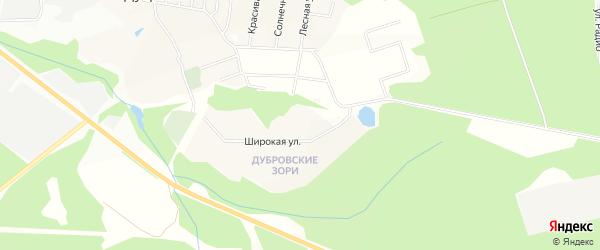Территория объединение Эдельвейс-Овсянниково на карте Дмитровского района Московской области с номерами домов