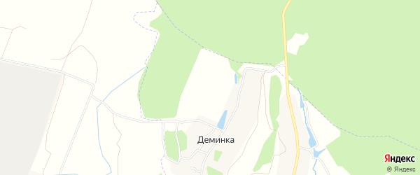 Карта садового некоммерческого товарищества Бумажника-1 в Тульской области с улицами и номерами домов