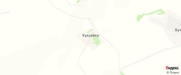 Карта деревни Кукуевки в Тульской области с улицами и номерами домов