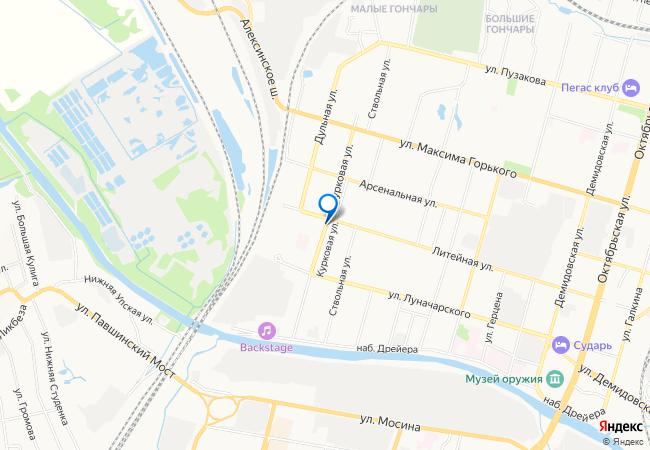 карта тулы с фотографиями домов настоящее