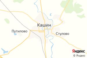 Карта г. Кашин