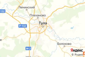 Карта г. Тула Тульская область