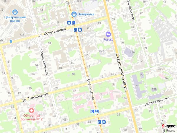 карта тулы с фотографиями домов