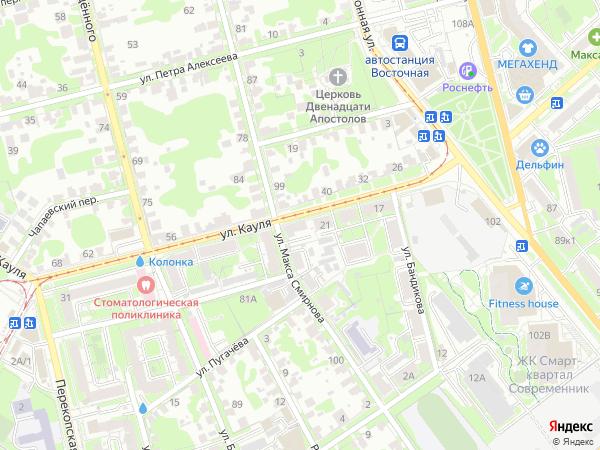 карта тулы с фотографиями домов смотрятся очень