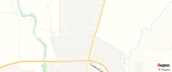 СНТ Восход на карте Орла с номерами домов