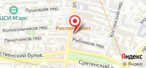 Главное контрольное управление Московской области администрация  Администрация Главное контрольное управление Московской области на карте Москвы