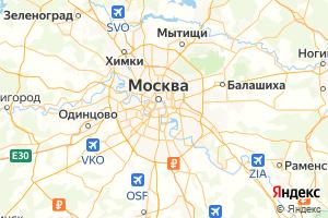Карта г. Москва Московская область