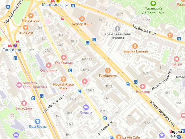 Россия , москва, марксистская улица, дом 3.