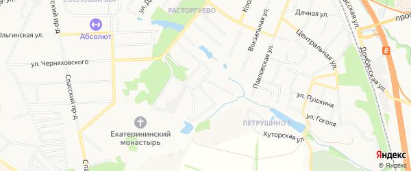 ГСК Сатурн-2 на карте Видного с номерами домов