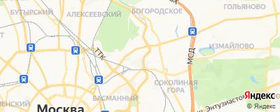 Синявин Дмитрий Юрьевич, адрес работы: г Москва, ул Матросская Тишина, д 14А